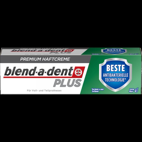 BLEND-A-DENT Premium-Haftcreme: Plus BESTE antibakterielle Technologie, 40 g