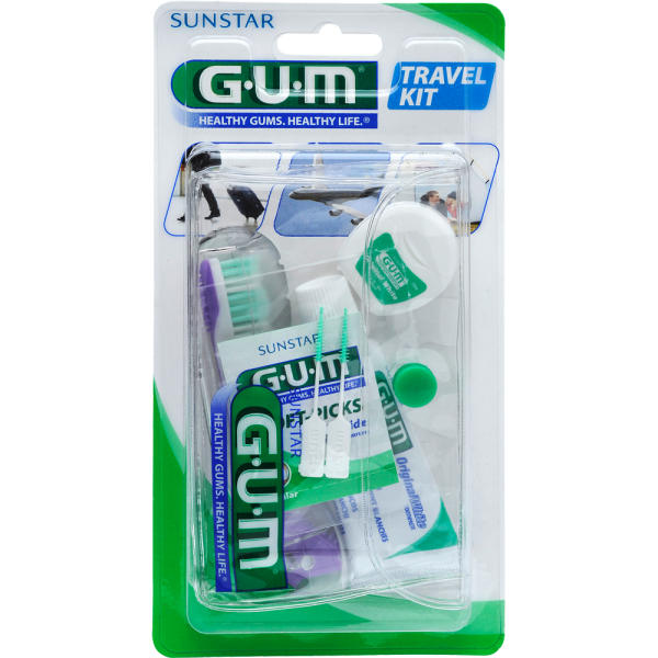 GUM Original White Travel-Kit