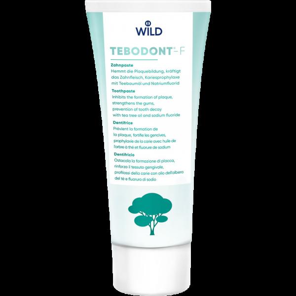 WILD Tebodont-F Zahnpasta: 75ml