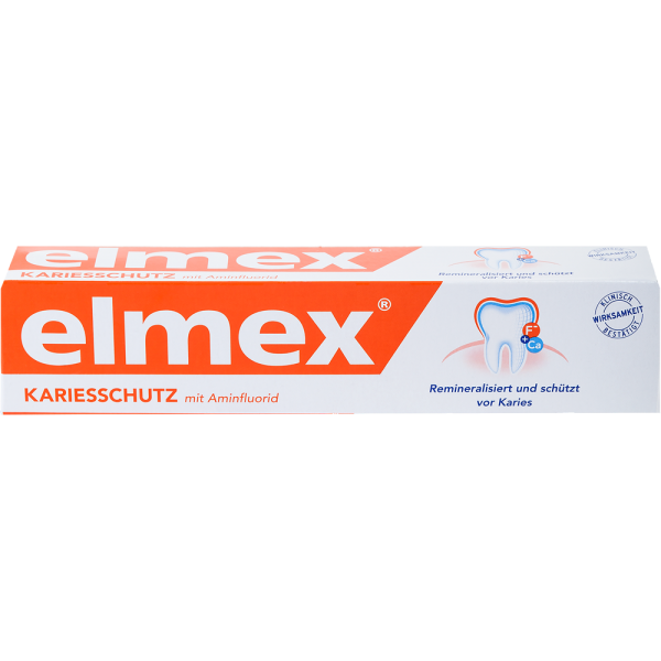 elmex Kariesschutz Zahnpasta: 75 ml Tube
