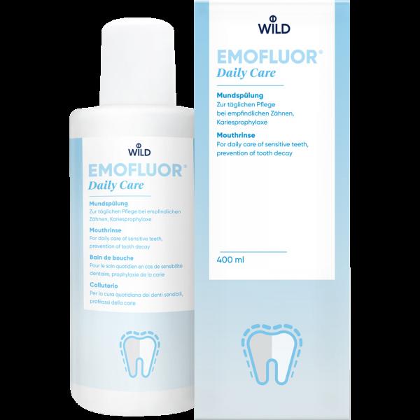 WILD Emofluor Daily Care Mundspülung: 400 ml
