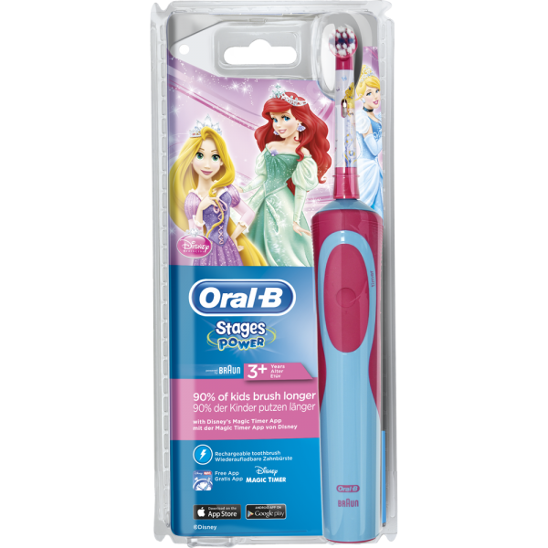 Oral-B Stages Power Akku-Zahnbürste: Prinzessin