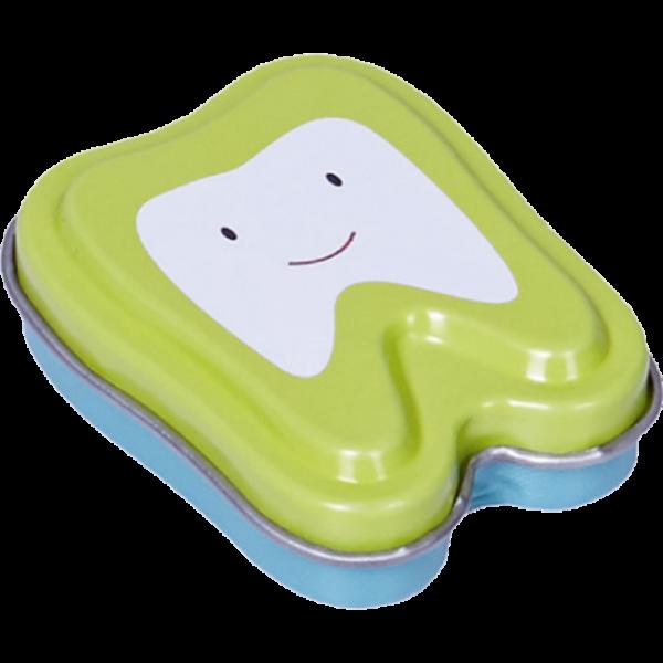 Milchzahndose Zahnform: grün