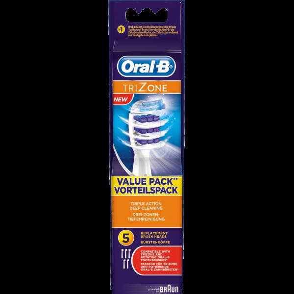 Oral-B Bürstenköpfe TriZone: 5 Stück