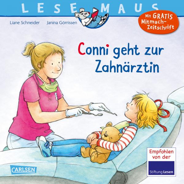 Lesemaus - Conni geht zur Zahnärztin