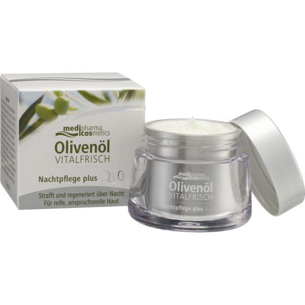 Medipharma Q10 Olivenöl Vitalfrisch Nachtpflege