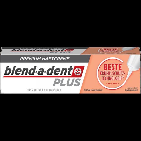 BLEND-A-DENT Premium-Haftcreme: Plus BESTE Krümelschutz-Technologie, 40g