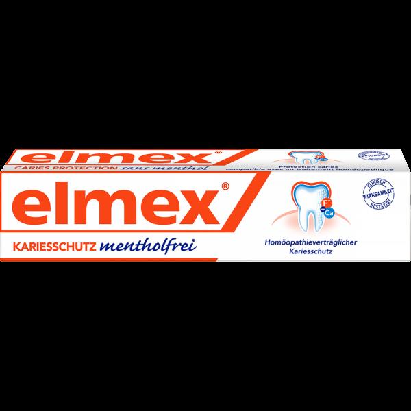 elmex mentholfrei Zahnpasta: 75ml Tube