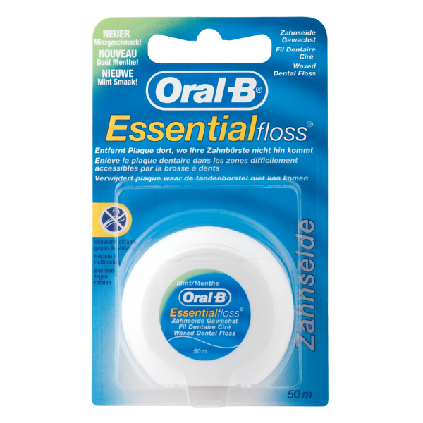 Oral-B Essentialfloss »mint« gewachst