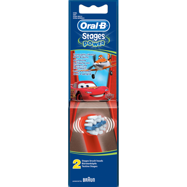 Oral-B Bürstenköpfe StagesPower Cars