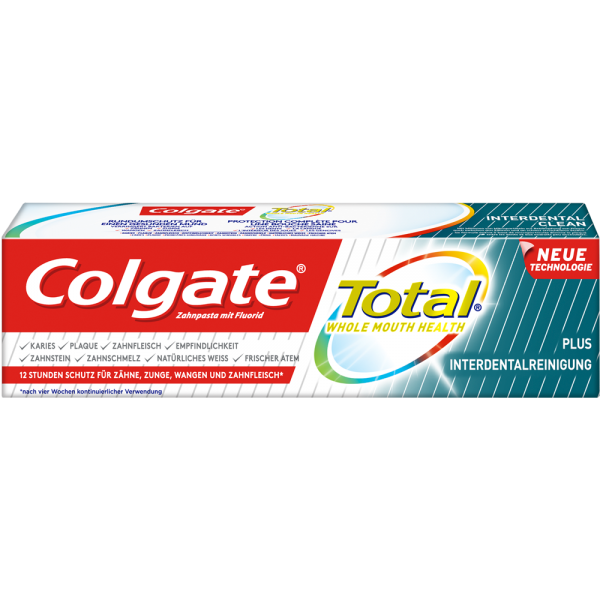COLGATE Total Plus: Interdentalreinigung Zahnpasta, 75 ml