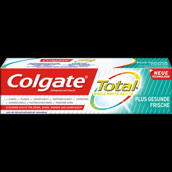 COLGATE Total Plus: Gesunde Frische Zahnpasta, 75 ml