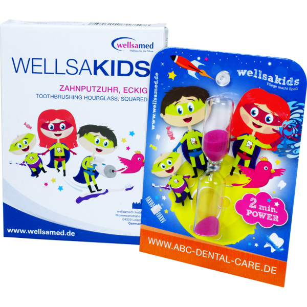 wellsakids Zahnputzuhr ABC Dental Care: eckig