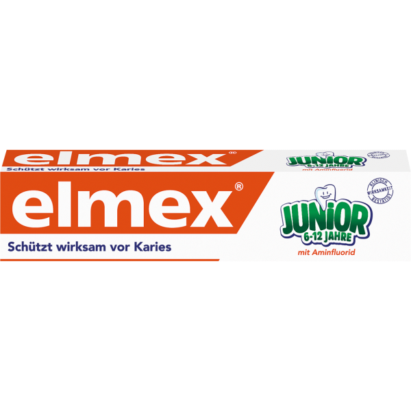 elmex JUNIOR Zahnpasta: 75 ml Tube